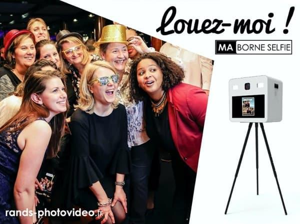 Ma Borne Selfie - Location de Borne Photobooth